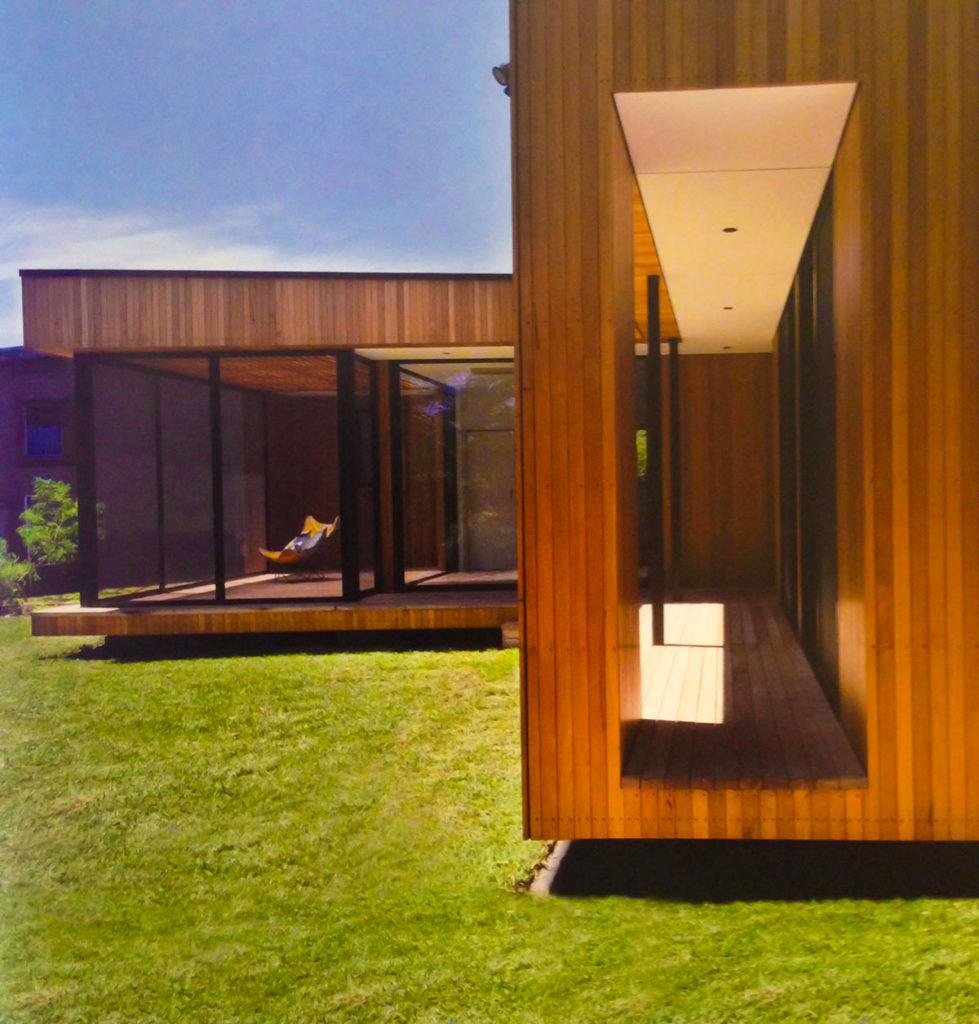 dettaglio casa in legno