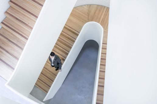 Progetto architettonico scale in legno