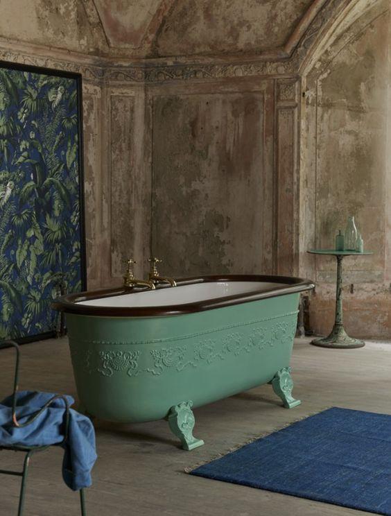 vasca da bagno centrale