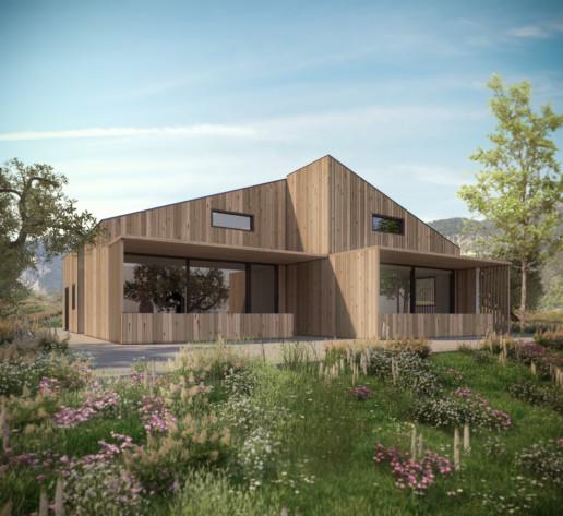 Architetture case in legno