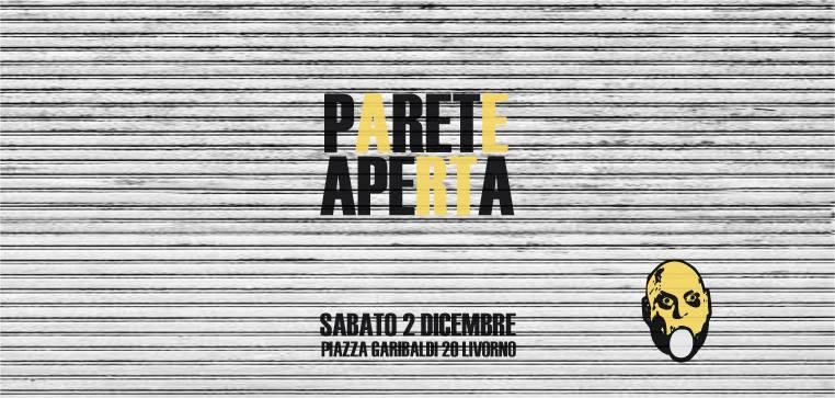 Parete aperta - Galleria d'arte Uovo alla Pop di Livorno
