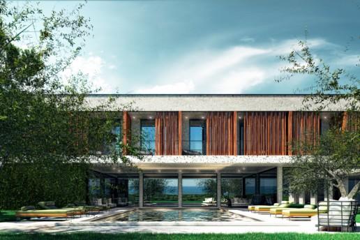 Progetto architettonico Nido Verde